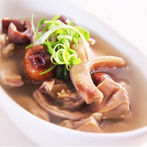 Dạ dày hầm nấm - món ngon không thể chối từ1
