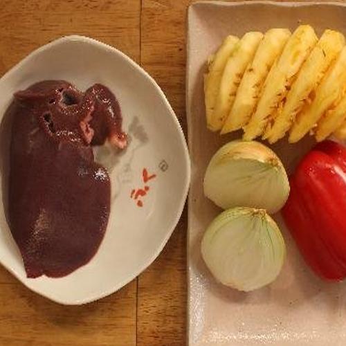 """""""Đổi vị"""" cho bữa cơm gia đình bằng món gan heo xào chua ngọt1"""