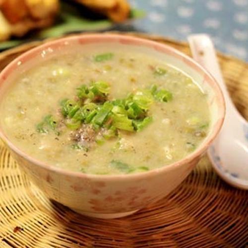 Cháo gan heo đậu xanh, món ăn giúp trẻ lớn nhanh