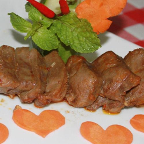 Lưỡi heo nướng sa tế - sự tinh tế trong cách chế biến món ăn1