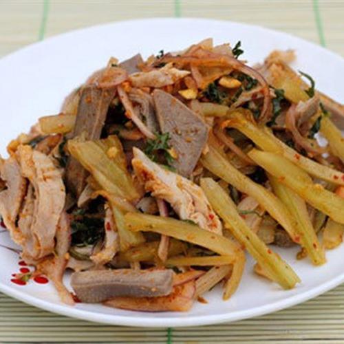 Món lưỡi heo và bao tử trộn dưa cải chua, bí quyết cho bữa cơm gia đình thêm ngon2