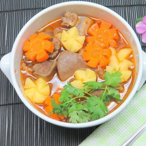 """Ragu lưỡi heo - """"món tây"""" của người Việt2"""