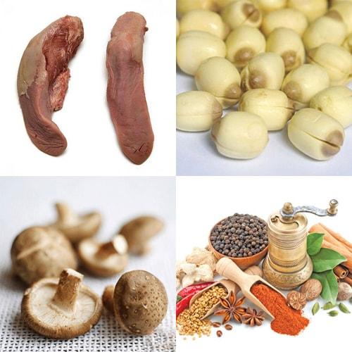 Tẩm bổ cho cả nhà bằng món lưỡi heo hầm hạt sen dinh dưỡng1
