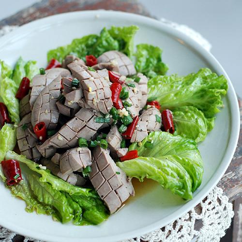 Tránh nóng với món cật heo trộn chua ngọt3