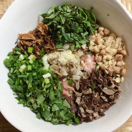 Khấu đuôi lợn nhồi thịt chiên giòn, món ăn dễ làm, ngon cơm2