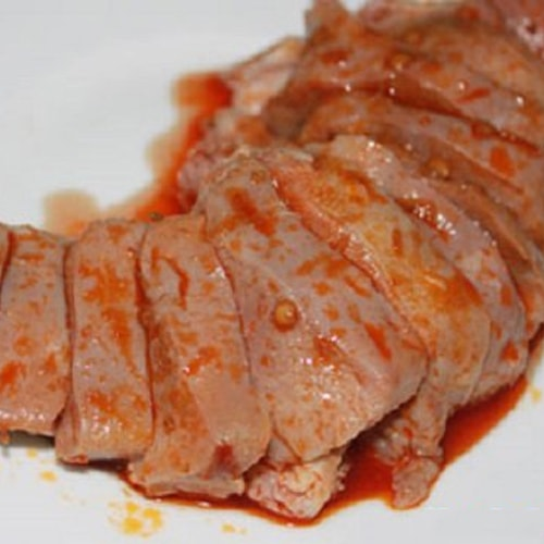 Lưỡi heo nướng sa tế - sự tinh tế trong cách chế biến món ăn2